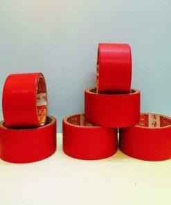 băng dính simili đỏ