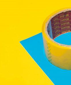 băng dính bóng vàng 2