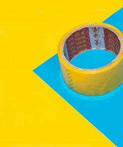 băng dính bóng vàng 3