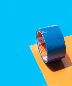 mẫu băng dính bóng xanh dương