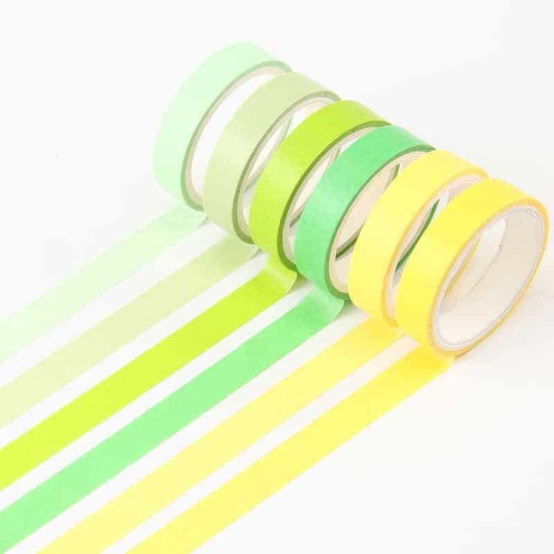 các loại băng dính giấy màu